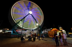 The Ferris Wheel at the Boulder County Fair on Wednesday. Go to timescall.com for more photos. Matthew Jonas / Staff Photographer Aug. 5, 2015