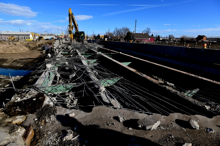 Longmont, Bridge, Main Street, Flood Repair