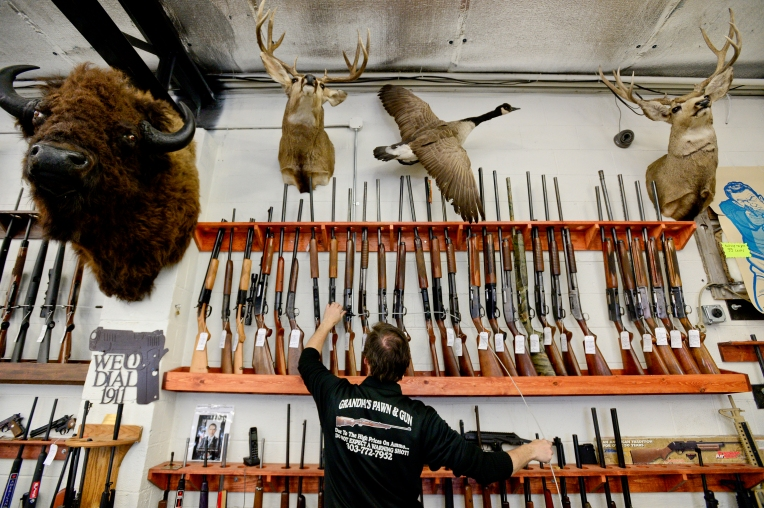 Longmont, gun, pawn, smart gun, demand, firearms