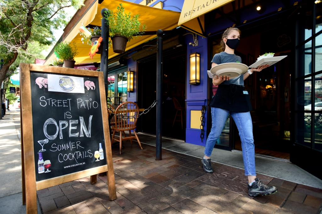 Restaurants Relying on Outdoor Street Patios